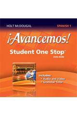 Order Avancemos Student One Stop Dvd Rom Level 1 Isbn 9780547897165 Hmh How To Speak Spanish Student Teacher