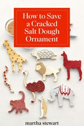 How to Fix a Cracked Salt Dough Ornament