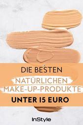 Naturkosmetik: die besten 100% natürlichen Make-up-Produkte unter 15 Euro …   – Hairstyle