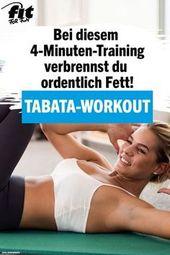 Tabata-Training: Tipps und Übungen für das 4-minütige Training
