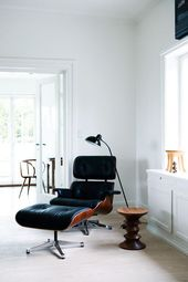 definitely my dream chair the eames lounge chair designed by charles and ray eames this perfect seating arrangement of leather and moulded plywood