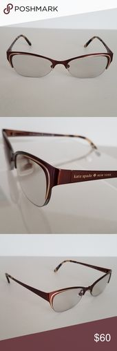 Kate Spade Eyeglass Frames Half rim eyeglass frames by Kate Spade, model Chloris… – My Posh Picks