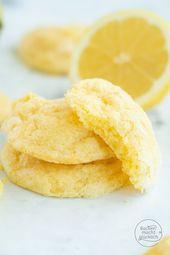 Galletas de limones jugosos   – Kekse Rezepte