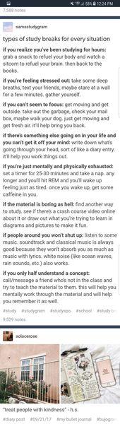 Studientipps #schooltips #studytips Quelle: tumblr…