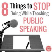 eight Issues to STOP Doing When Educating Public Talking