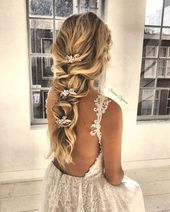 : 101 boho bride hairstyles for carefree bride, beautiful boho hairstyles, boho hair … – 101 boho bride hairstyles for carefree bride, beautiful boho woman …