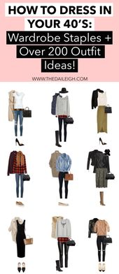 How To Dress Over 40 | Fashion Tips for Women In their 40's | Winter Fashion…