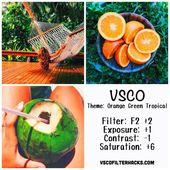 10 VSCO-Filter für den Sommer – VSCO Filter Hack #PhotoshopTutorialTumblr