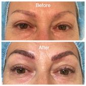 Eyebrow Fèathering ( Microblading ) over a 7 yr previous tattoo & the attractive LA…