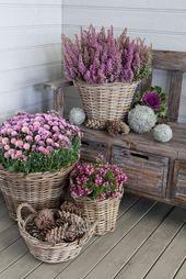 30+ erstaunliche kreative Gärten Behälter Ideen für schöne kleine Räume – Gardening