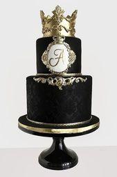 Schwarzweiss-Hochzeitstorten-Ideen ❤ Sehen Sie mehr: www.weddingforwar… #weddings…  – Celebrations