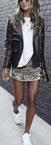 Lässige Sommermode Stil. Sehr leichter und frischer Look. Das Beste aus Casual Outfits im Jahr 2017