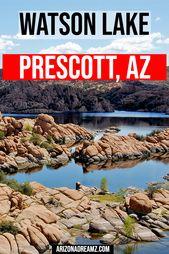 Watson Lake: Saker att göra i Prescott, AZ