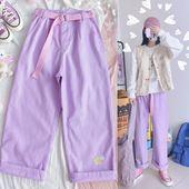 Pastel Candy Kawaii Denim Pants | Tokyo Dreams