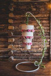 18 pasteles de boda colgantes que son los mejores testaferros | CHWV …   – Beste Essen Recipes