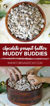 Chocolate Peanut Butter Muddy Buddies