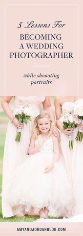 Hier sind 5 Lektionen, um ein Hochzeitsfotograf zu werden, die Sie lernen können, während …