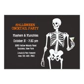 Halloween Cocktail Party Invitation | Zazzle.com