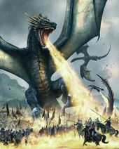 Balerion by Paul Youll