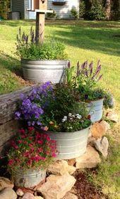 container gardening ideas | Container garden ideas. | Home: gardening/backyard i…