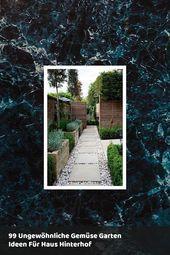 99 ungewöhnliche Gemüsegarten-Ideen für den heimischen Garten – #garden #gemuse #hi …   – Kleiner Anbau