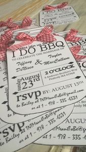 PDF Version- I DO BBQ Personalized Invitations, Custom Invitations, Bridal shower invitations, printable invitations, wedding invitations
