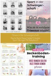Fitness in der Schwangerschaft: Mache nicht diesen Fehler! – fit-weltweit.de – F…