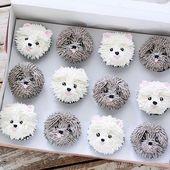 """Echa un vistazo a los detalles de estos """"pastelitos"""": ¡son demasiado adorables! @he…   – birthday cakes"""
