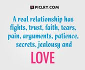 A real relationship has fights.. #LoveQuotes #Quote