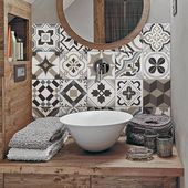 Glue tiles with cement tiles: a simple and inexpensive ma …