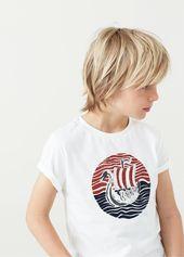 T-Shirt Cotton Image – Boy – Frisuren Kinder – #boy #Cotton #Frisuren #Image #Ki…
