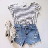 Süße Sommer-Outfits für Jugendliche 37