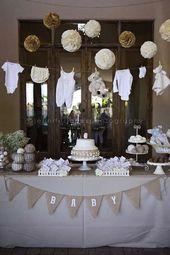 15 beautiful DIY baby shower ideas