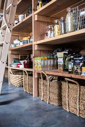 Pantry organization ideas from a Crate and Barrel Food Blogger Blog