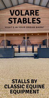 Volare Stables hat sich für die Stände von Classic Equine entschieden, und das sollten Sie auch! Holen Sie sich noch heute Ihren! … – Favorite Barns and Farms