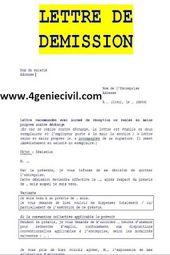 3 Modeles De Lettres De Demission Avec Preavis Word How To Plan Autocad