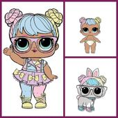 L.O.L Surprise Bon Bon's Family Series 2 Series 2 Lil SisterSeries 3 Wave 2 Pets… – lol