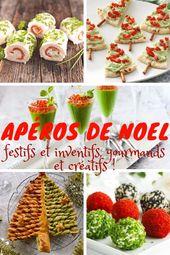 Aperitivos navideños: festivos e inventivos, gourmet y creativos.