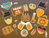 Oktoberfest Printable Photo Booth Props, Oktoberfest Photobooth Props, Oktoberfest Bavarian Photobooth Props, German Oktoberfest props – Products