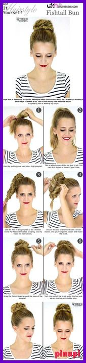 Looking for gorgeous high bun hairstyles You are in the right place Here are visually stunning ten most beautiful high bun hairstyle for your next par