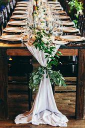 Intime italienisch inspirierte Hochzeit