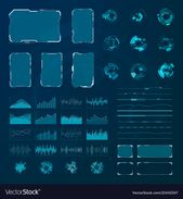 HUD elements set. Graphic abstract futuristic hud pannels. Vector. Download a Free Preview or High Quality Adobe Illustrator Ai, EPS, PDF and High Res…
