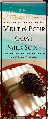 Melt and pour goat's milk soap   – Goats