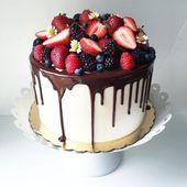 DAS ist der schönste Torten-Trend der Saison: Drip Cakes
