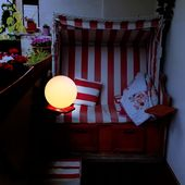 Balkongarten Led Solarlampe Fur Garten Balkon Haus 30cm Solar Kugellampe Solar Leuchte Mit Dammerungssensor Gartenlampen Solarlampen Garten Balkon Haus