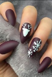 25 Bright and Awesome CHRISTMAS NAILS Art Design and Polish Ideas for 2019 Part 18  – Nails!!