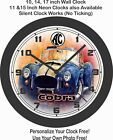 Ford A C Cobra 427 Wall Clock Free Usa Ship Porsche Corvette Mustang Ebay Personalized Wall Clock Wall Clock Garage Gift
