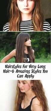 Hairstyles For Very Long Hair-6 Amazing Styles You Can Apply : Hairstyles For Very Long Hair #hairstyle #hairstyles #naturalhairstyles #naturalhairsty…