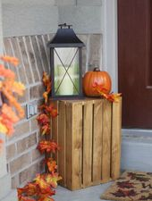 10 Ideen, um Ihre Front Porch für den Herbst auszustatten