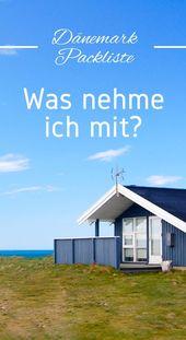 Packliste Dänemark – Was nehme ich mit? Der Urla…